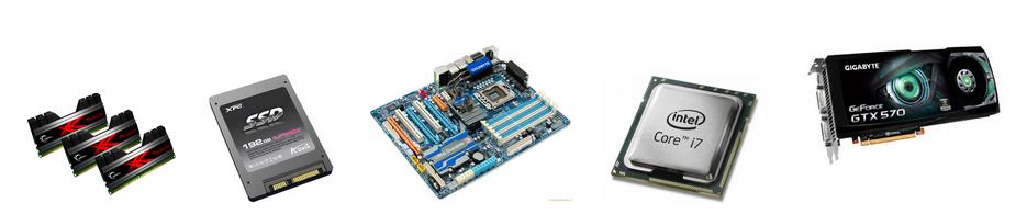 oferta podzespołów komputerowych płyty główne     procesory     pamięci     karty graficzne     dyski twarde     tunery TV     napędy optyczne     obudowy     elementy chłodzenia     kontrolery